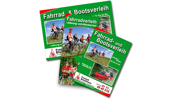 Fahrrad- Bootsverleih Blockhaus