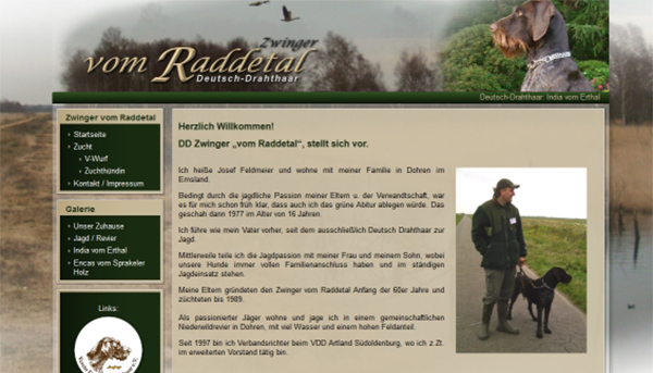 Deutsch Drahthaar v Raddetal