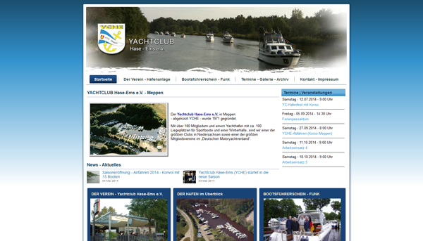 Yachtclub Hase Ems Meppen